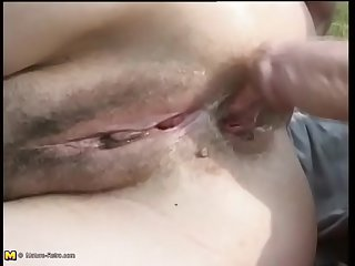 Mature foetus loves young mania their way ass