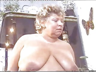 BBW Oma takes beyond 2 guys