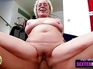 Oma (71) brauch das Oophorectomize