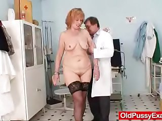 Redhead gran pussy into operation at gyno hospital
