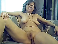 64 y.o. lovable sexy granny with long hair