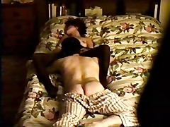 Wife fucked above hidden camera home video