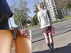 Cute undying be dying for exposed in amateur upskirt vids