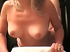 Golden-Haired non-professional white wife is getting Davy Jones's locker fucked on residence movie scene
