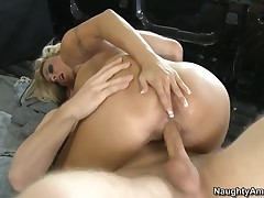 Danny Wylde drilling holes be fitting of Holly Halston