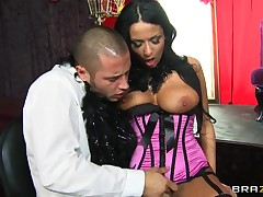 Hot full-grown Anissa Kate wet coaxing of a hot guy!