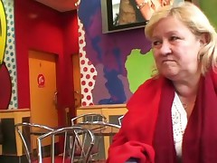 Great tited grandma tastes yummy pisser
