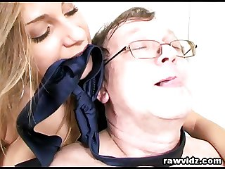 Old Pervert Boss Busty Teen And Mom Date Triumvirate