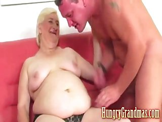 Fat blonde horny granny Airfield