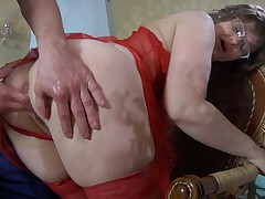 Leonora and Herbert red hot mature action