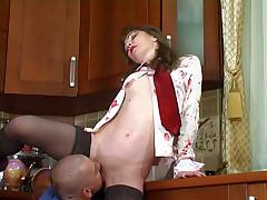 Leila and Benjamin furious mature action