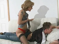 Esther and Gilbert rancid adult flick