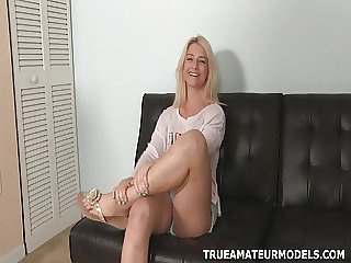 Aubrey Amateur Teen Chip divide up