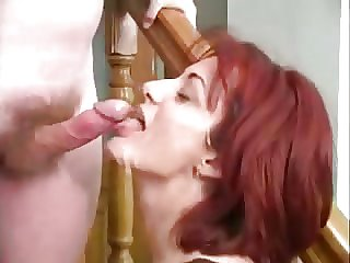 Nice titted redhead full-grown analized