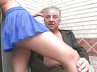 Young whore makes grandpa tone more alive than ever
