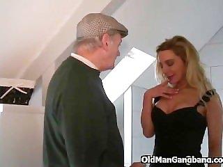 Home gangbang orgy
