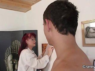 Paintress granny conviviality
