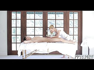 Steamy titillating massage for kitty