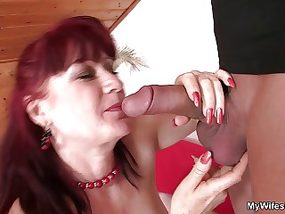 Girlfriends mother uses dildo unsystematically rides weasel words