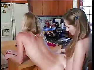 kitchen pussy eaters