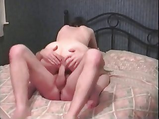 Milf getting pounded wide of a large cock with an increment of getting an withdraw from