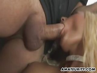 OldNanny Old shrivelled main with strapon, enticing girl