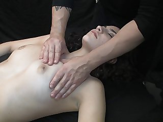 Massaged nigh squirting orgasms (Highlights of Rub-down 54)