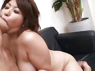 Asian MILF snowball