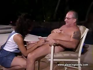 Cher Sucks Uncle Jesses Old Cock