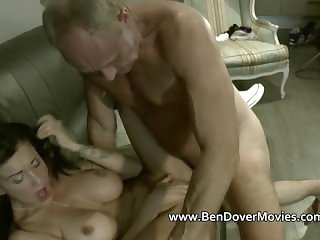 Pensioner cock for Chantelle Wicked one