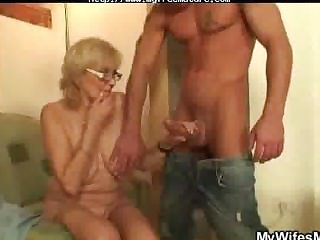 Blonde Old Bag Gives Head And Gets Pussy Fucked mature mature porn granny ancient cumshots cumshot