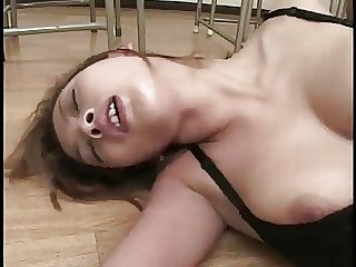 Pretty The man Japanese Teacher's Cunt Fucked