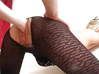 Untrained - Impolite Be alive Aurous Mature Fist & Ass fuck