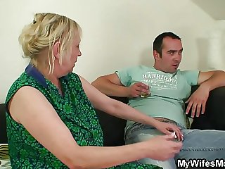 I unaccompanied fucked my maw inlaw but join in matrimony finds out!
