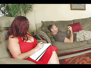 Heavy Titted BBW Therapy For His Cock