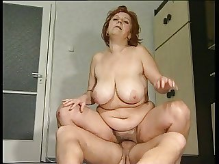 Big Mamma Granny Mathilda Gets Her G Thatch Pounded