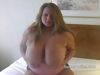 Heavy Blonde Fat Boobs