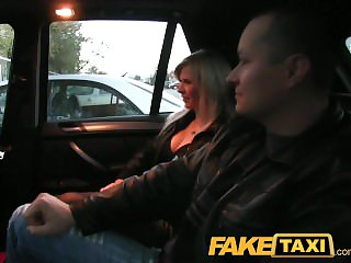 FakeTaxi Skimp watches join in matrimony obtaining fucked