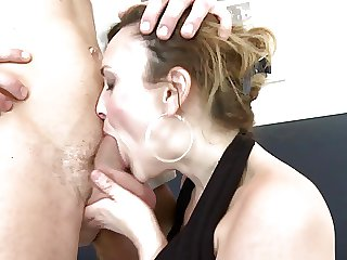 Lickerish real mother fucks hard her young sweetheart