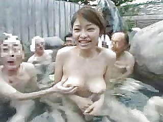 Age-old Men + Attracting Young Piece of baggage - Japanese Hot Swallow whole