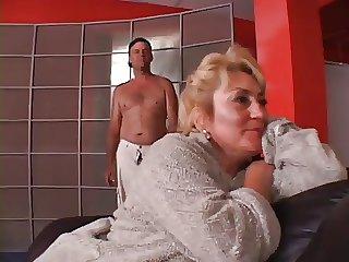 Oversexed granny.