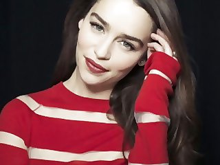 Emilia Clarke jerk elsewhere panhandler