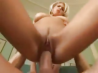Busty CZECH blonde hot leman and swallow cum