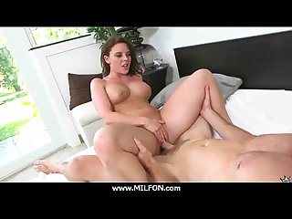 European MILF gets a indestructible fucking 3