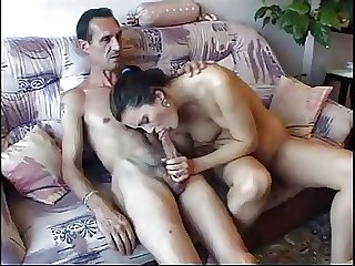 Heavy dicked ancient guy fucking a hottie