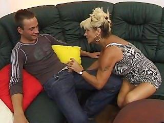 Blonde fucks