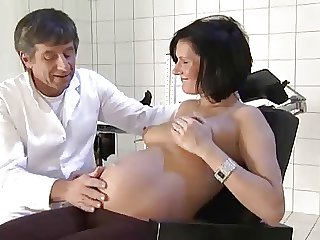 German Pregnant Milf