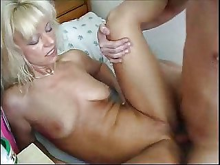 blonde russian mom