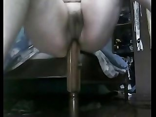 BBW Lower oneself attack On Their way Bedpost