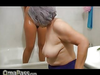 OmaPass BBW chubby Granny just about old Mature latitudinarian in untainted